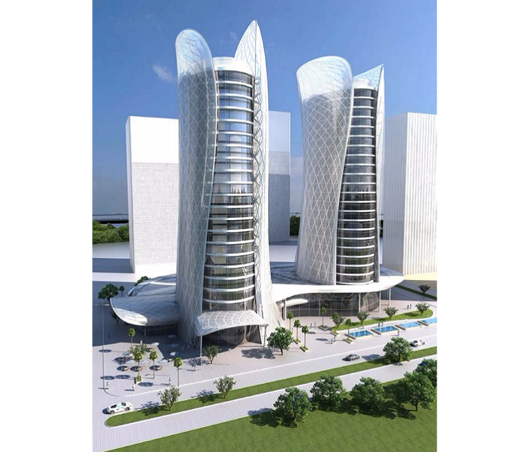 Two Towers in Lusail