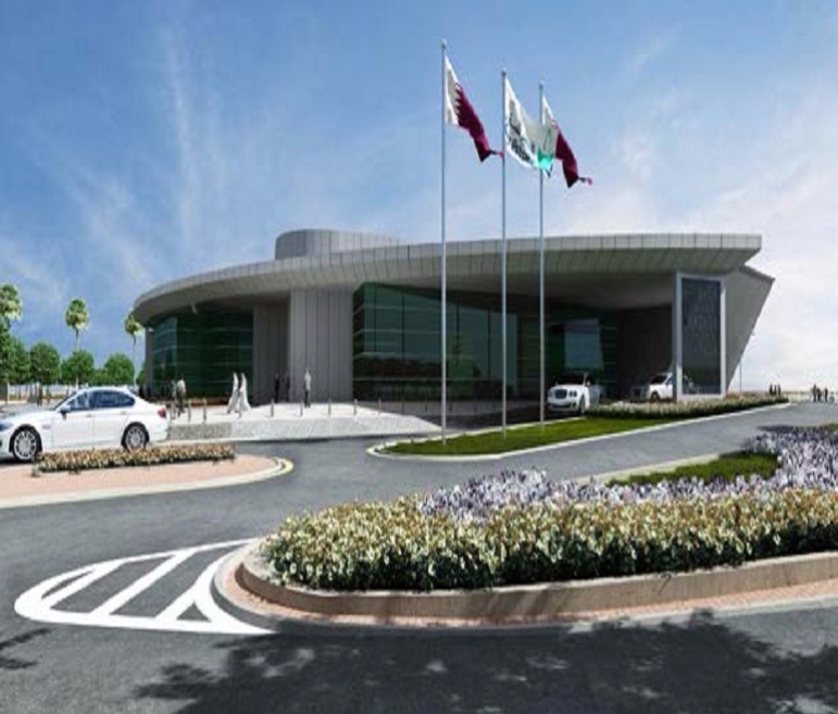 Auditorium at Ras Laffan Industrial City