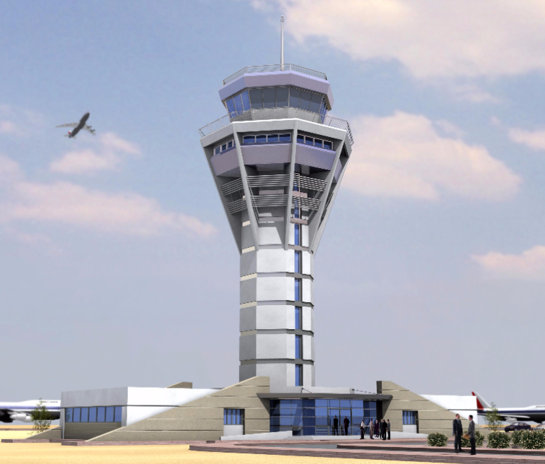 Control Tower for Borg Al-Arab International Airport
