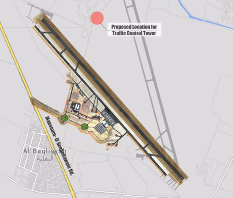 Preliminary Studies for the Construction of a Civil Airport in Al-Dakahlia