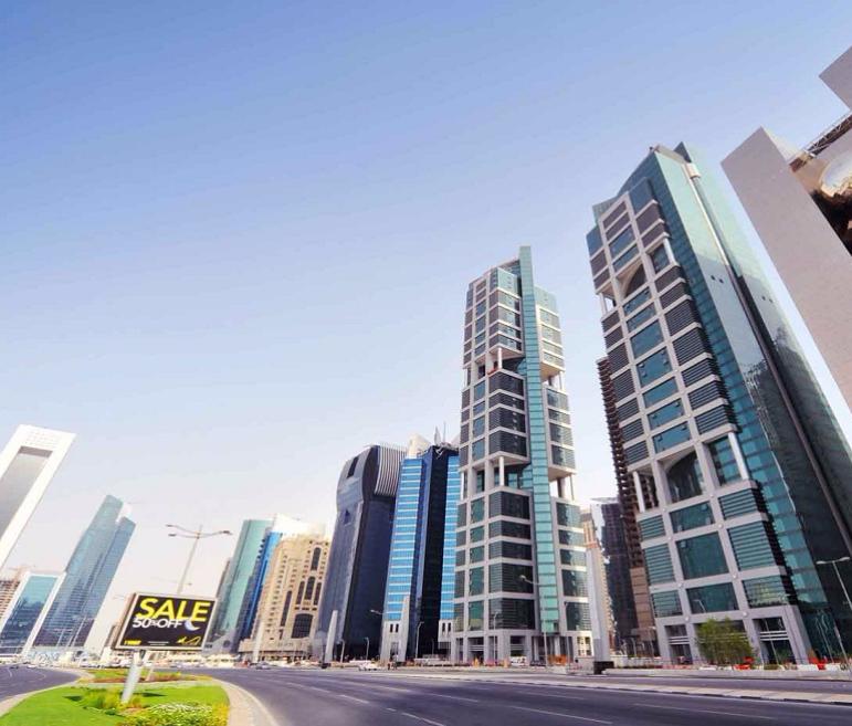 Al-Baker Hotel Towers in Doha, Qatar