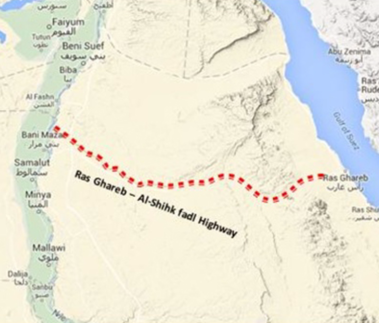 El Sheikh Fadl–Ras Gharib Road