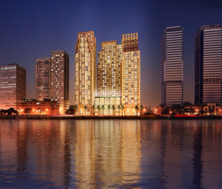 St. Regis Towers (Nile Corniche)
