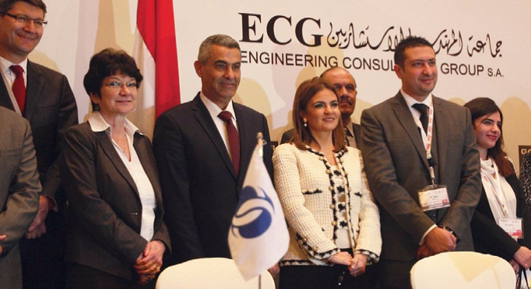 "ECG Sponsors MEED's Conference ""Egypt Mega Projects"""