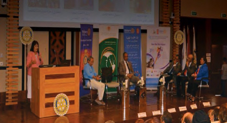 ECG's Participation in the Second National Vocational Service Seminar, El Gouna