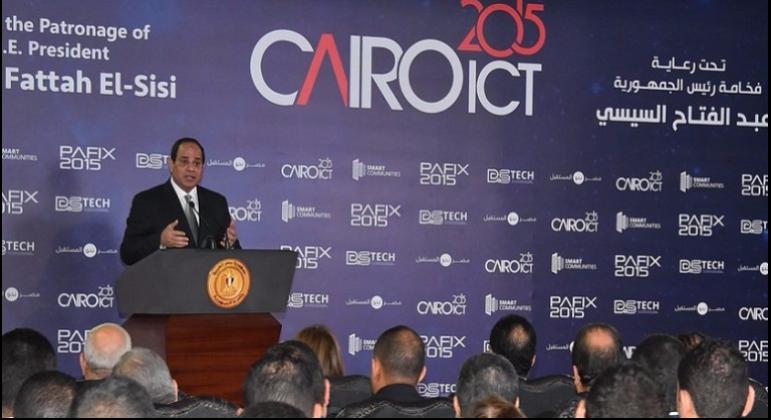 ECG Participates in Cairo ICT 2015