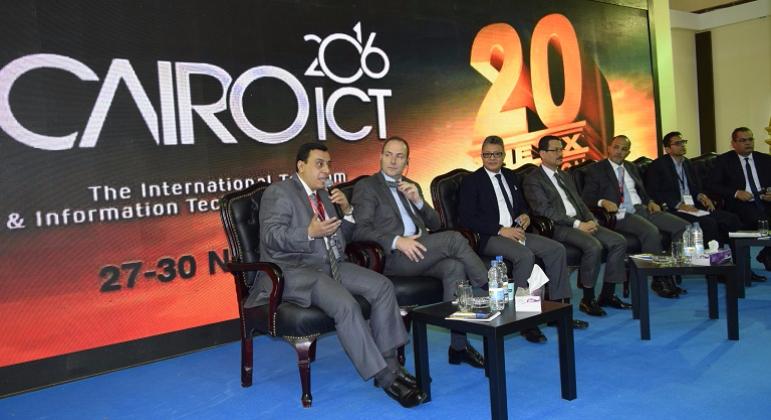 ECG Participates in Cairo ICT second Smart Communities Exhibition & Forum