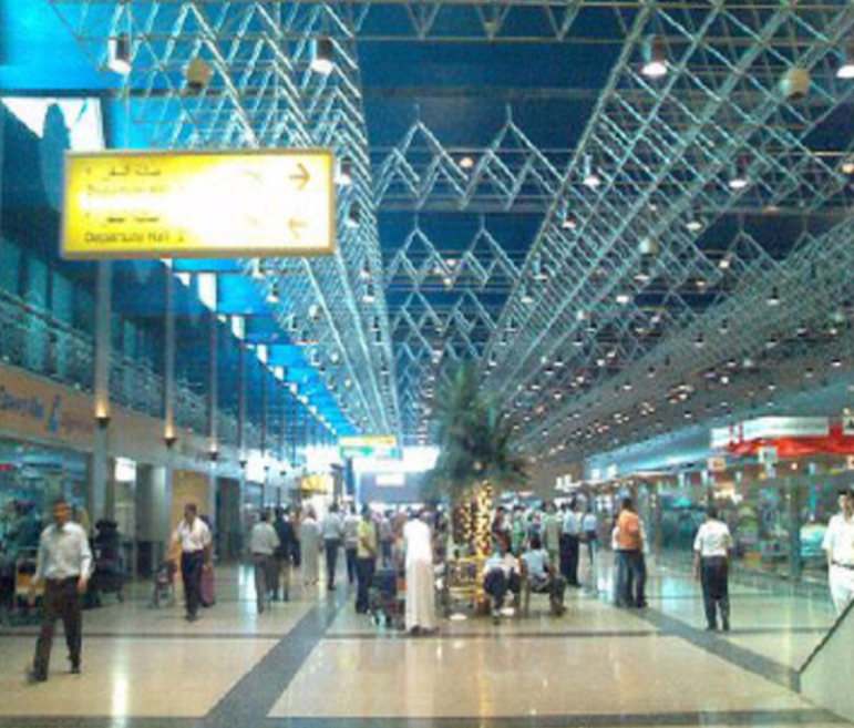 Cairo International Airport Terminal Building 1 – Emergency Routes