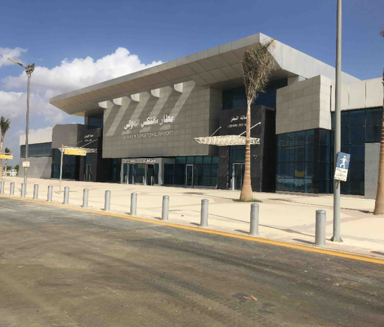 Capital and Sphinx International Airports