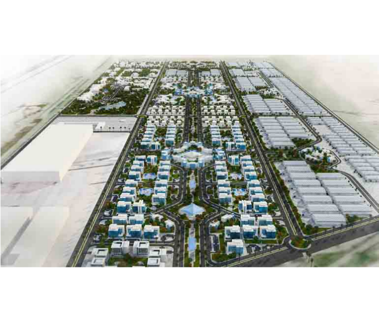 Cleopatra Industrial Park in Al-Ain Al-Sokhna City