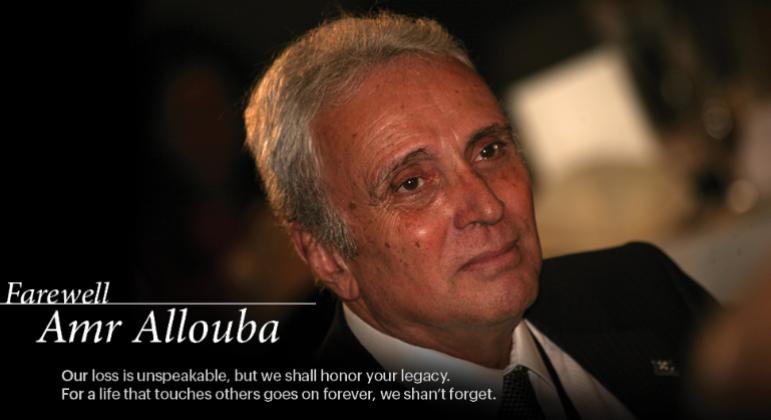 Farewell Amr Allouba