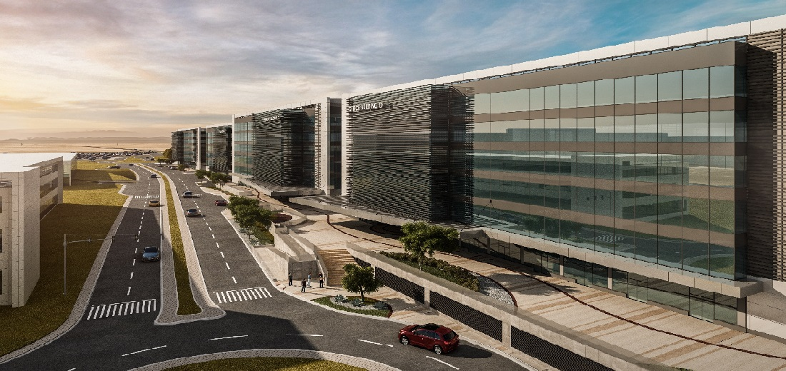 Four Commercial Buildings at Abu Dhabi International Airport